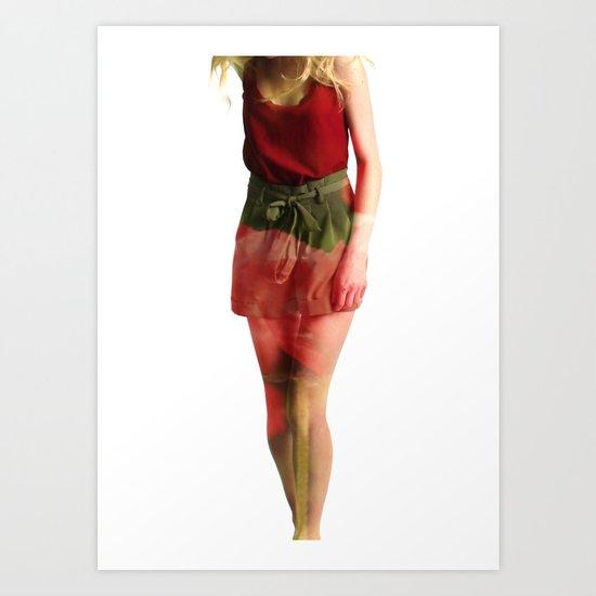 Ruby Love Art Print