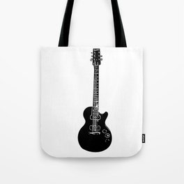 Electric Guitar Tote Bag
