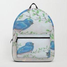 """ Bluebirds "" Backpack"