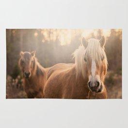 Horses v2 Rug