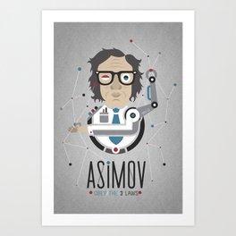 """""""Asimov's Laws"""" Art Print"""