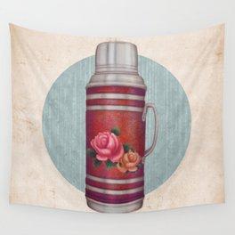 Retro Warm Water Jar Wall Tapestry