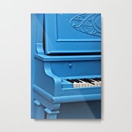 Piano Blues Metal Print