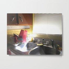 College Kitchen Sink Metal Print