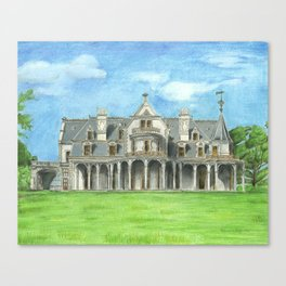Lockwood Mathews Mansion Canvas Print
