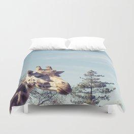 giraffe... Duvet Cover