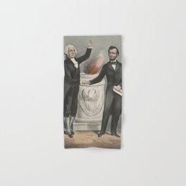 Vintage American Founding Fathers Illustration (1865) Hand & Bath Towel
