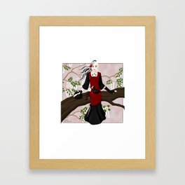 coot-keeper Framed Art Print