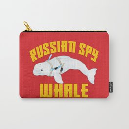 Russian Spy Whale Carry-All Pouch