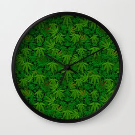 Pot Infinity Tile Wall Clock