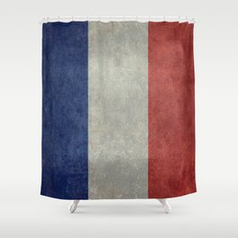 National Flag of France Shower Curtain