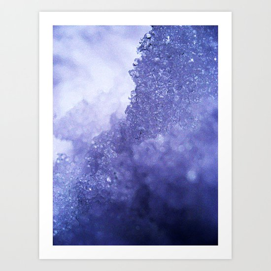 Ice Mountain Art Print