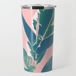 Ficus Elastica Finesse #3 #tropical #foliage #decor #art #society6 Travel Mug