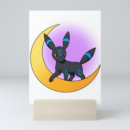 Shiny Umbreon Pokémon Moon Mini Art Print