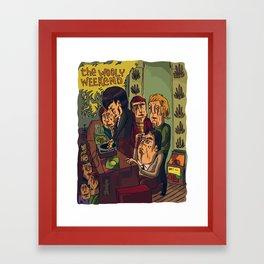 The Wooly Weekend Framed Art Print