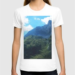 Pastures in the Alps T-shirt
