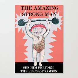 THE STRONG MAN Canvas Print