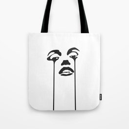 Monroe Crying Official Tote Bag