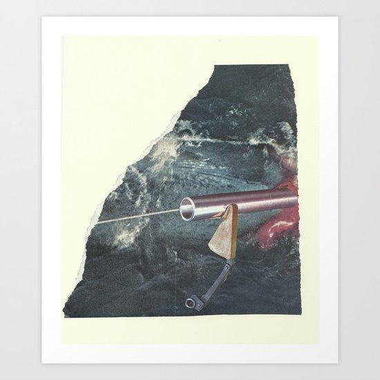 Vermillion Art Print