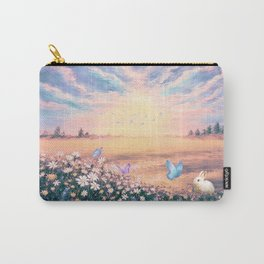 The Morning Light on Gold field Carry-All Pouch