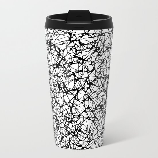 are you nervous? Metal Travel Mug