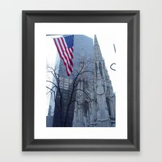 St. Patrick's Cathedral in New York Framed Art Print