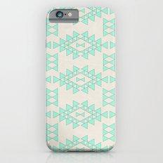 Mint Geo iPhone 6s Slim Case