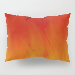 Flames of Gold Pillow Sham
