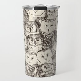just owls natural Travel Mug