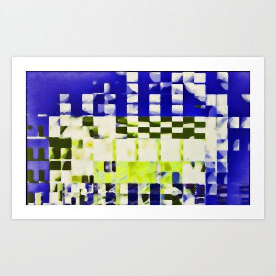 fragmented dream #12 Art Print