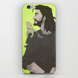 Weaving Witch iPhone Skin