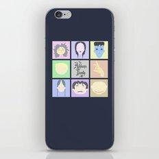 The Addams Family  iPhone & iPod Skin
