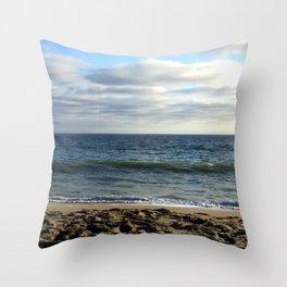 Cali Beach Life Throw Pillow