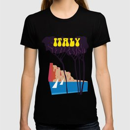 Italy vintage travel poster T-shirt