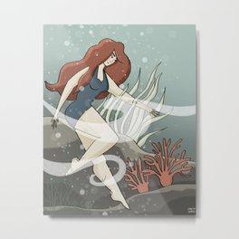 Bottom of the Sea Metal Print