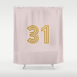 #31 (Pink) Shower Curtain