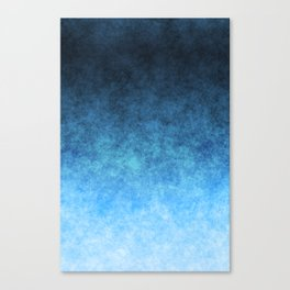 stained fantasy glow gradient Canvas Print