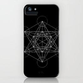 Sacred Geometry Print 4 iPhone Case