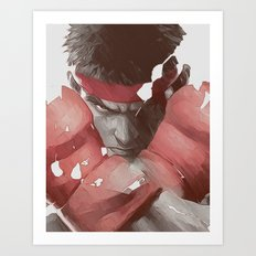 Street Fighter Art Print