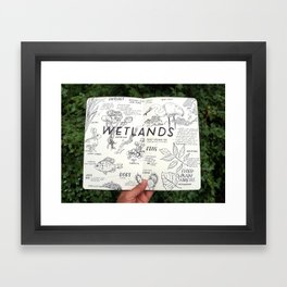 Wetlands Framed Art Print