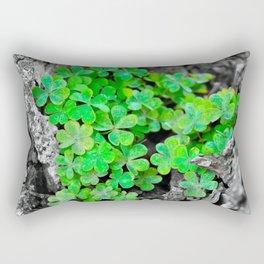 Clover Cluster Rectangular Pillow