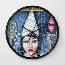 Profit Over Humanity Wall Clock
