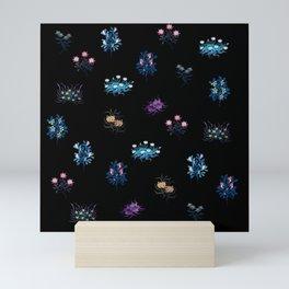 Fantasy flowers Mini Art Print