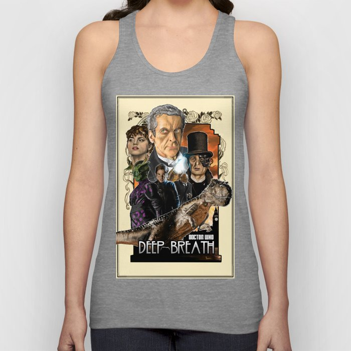 Doctor Who: Deep Breath Unisex Tank Top