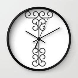 "Letter ""T"" in beautiful design Fashion Modern Style Wall Clock"