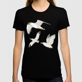 Seagulls Flying Pattern T-shirt