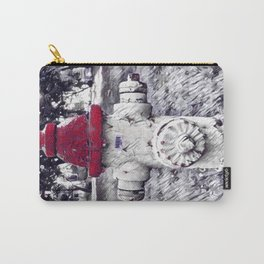 Red Cap Carry-All Pouch