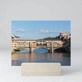 Florence: The Ponte Vecchio Mini Art Print