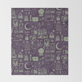 Haunted Attic: Phantom Throw Blanket