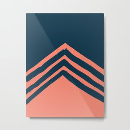 Voltage Metal Print